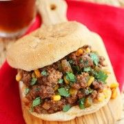 The Comfort of Cooking » Spicy Tex-Mex Sloppy Joes