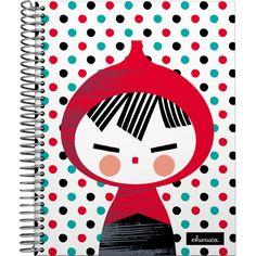 """Forrado, #Cuadernos A4-A5-A6-A7 de la serie """"Dots"""" de la colección #Charuca…"""