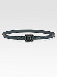 Gucci Python Belt