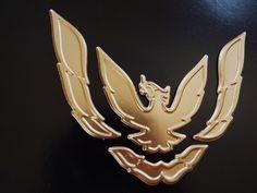 New Pontiac Trans Am-Pontiac Firebird Front Bumper -Nose Emblem-Badge 1969 Firebird, Gibson Firebird, Phoenix Bird Tattoos, Phoenix Tattoo Design, Pheonix Drawing, Phoenix Makeup, Phoenix Images, Hybrids And Electric Cars, Firebird Formula