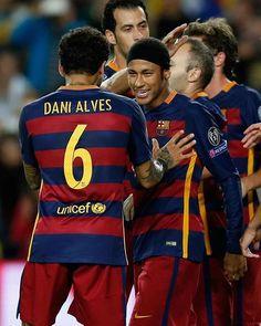 04.11.15 Barcelona 3 x 0 Bate !! #Neymar #Fcbarcelona #ChampionsLeague ⚽