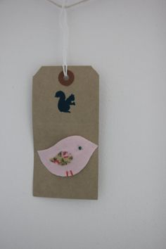 Little bird snap hair clip in pink with a by SecretSquirrel13, £2.50