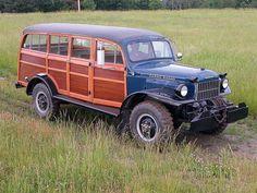 custom 1949 Dodge Power Wangon passenger Side View Photo 9287464