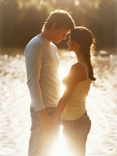 so romantic.....light....the water....the look...