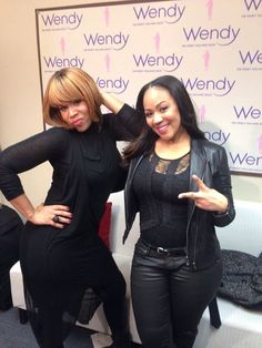 My S Mary Backstage Posing At The Wendy Williams Show