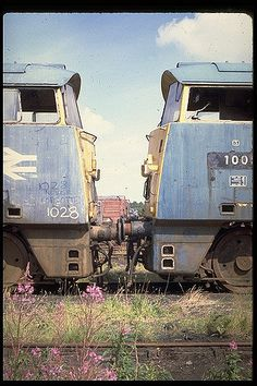 Class 52 Western Hussar & Western Invader at Swindon Works Electric Locomotive, Diesel Locomotive, Abandoned Train, Abandoned Places, Union Pacific Train, Uk Rail, E Electric, Bonde, Train Art