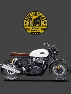 Motorcycles In India, Custom Motorcycles, Cafe Racer Motorcycle, Motorcycle Leather, Himalayan Royal Enfield, Royal Enfield Classic 350cc, Gt Continental, Royal Enfield Wallpapers, Royal Enfield Modified