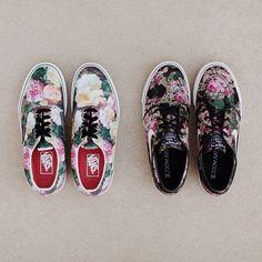 """#HypebeastProblems: #Supreme x @Vans ""Floral"" Era / @NikeSB Zoom Stefan Janoski (@slj1000) ""Digi Floral"""""