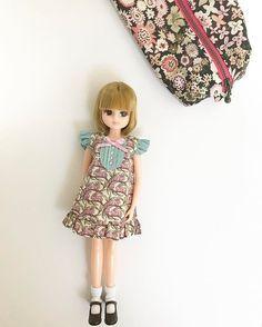 . おはようございます。 . 今日は、リカちゃん一緒にお出かけですよ。 . . . #liccadoll #licca #doll #リカちゃん#リカちゃんキャッスル