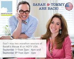 Sarah Richardson Design -- I love Sarah and Tommy! Sarah can re-do my house any day! I wish they still had their shows on HGTV in the USA. Sarah Richardson Farmhouse, Sarah Richardson Bedroom, Sarah Richardson Kitchen, House Season 4, Sarah 101, Hgtv Shows, Hgtv Designers, Favorite Tv Shows, My Favorite Things