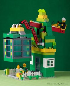 Put those Legos to good use in making this leprechaun trap for St. Patrick's Day!