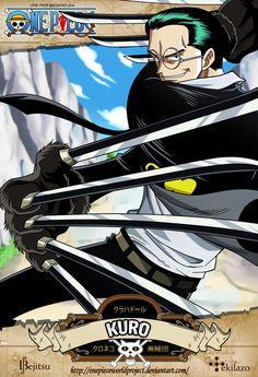One Piece - Kuro by OnePieceWorldProject on deviantART