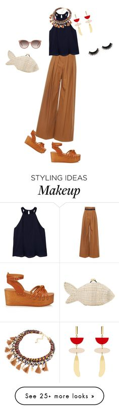 """Untitled #4969"" by ayse-sedetmen on Polyvore featuring Isabel Marant, Martin Grant, Serpui, MANGO and Gucci"