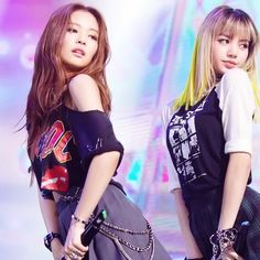 Jennie, Lisa and Jisoo - Inkigayo performance Kim Jennie, Jenny Kim, Kpop Girl Groups, Korean Girl Groups, Kpop Girls, Forever Young, K Pop, Square Two, Bts