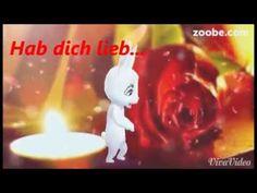 Hab dich lieb - sollte man öfter zu den Menschen sagen... Liebe, Zoobe, Animation - YouTube