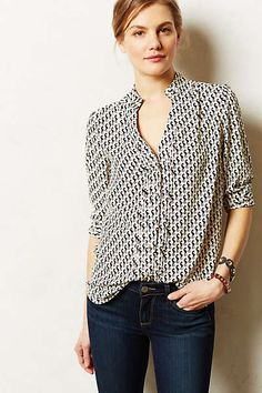 Anthropologie - Pemberton Blouse Tried this on, fits so nicely!
