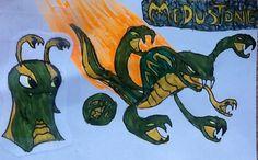 slugterra elemental slugs | Medustone: converts organic matter to inorganic matter/ converts ...