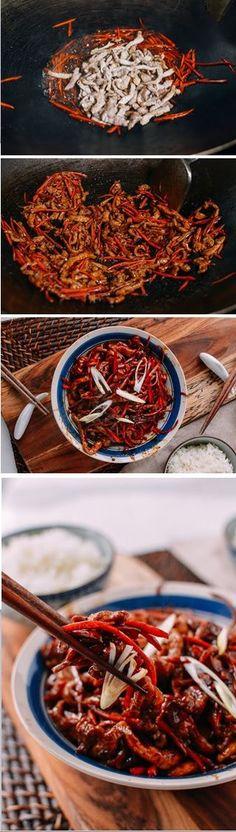 SHREDDED PORK STIR-FRY WITH SWEET BEAN SAUCE (京酱肉丝) Recipe by the Woks of Life