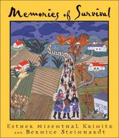Esther Nisenthal Krinitz tells her story of survival during the Holocaust through her art and narrative.  Acompanying text by her daughter, Bernice Steinhardt, adds historical detail, context and interpretation. While a beautiful gift for both children and adults, it is also an educational resource for teachers exploring the Holocaust and themes of social justice and tolerance. Story Of Esther, Survival Books, Personal History, Fiction And Nonfiction, Dressmaking, Needlework, Literature, Childhood, Literatura
