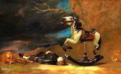 Stanley Gonczanski, Fallen Knight on ArtStack #stanley-gonczanski #art