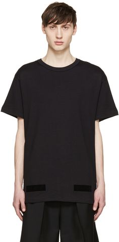 Off-White - Black Tone On Tone T-Shirt