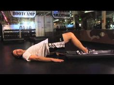 Barry's Bootcamp - Butt/Hamstring Drag