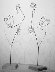Arte con alambre | Quiero más diseño