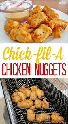 Copycat Chick-fil-A Chicken Nuggets recipe from The Country Cook