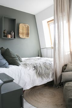 decordemon: A Dutch house with a blend of vintage and industrial decoration Home Bedroom, Bedroom Wall, Bedroom Beach, Bedrooms, Luxury Homes Interior, Interior Design, Interior Colors, Interior Modern, Diy Furniture