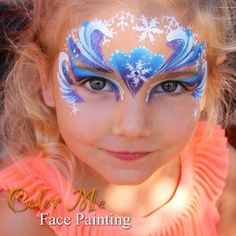 Frozen Face Painting/Makeup - Color Me Face Painting