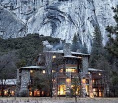Ahwahnee Lodge at Yosemite National Park