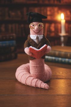 Alan Dart's Bookworm from Simply Knitting issue 158