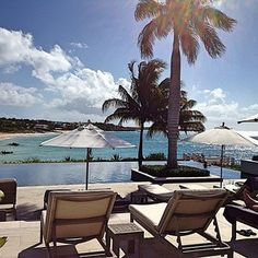 Pool scenes from Viceroy, Anguilla.