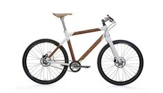 Nemus Cajalun wooden bicycle is made with nature's own composite