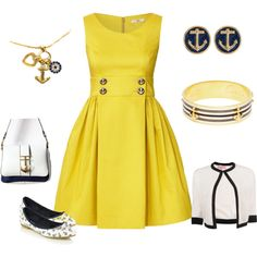 """Anchors Away"" by coloradokim on Polyvore"