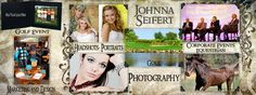 Johnna Seifert Photography Corporate Event Photography • On-site Printing • On-Site Portrait Studio • Portraits & Headshots • Conventions & Trade Shows • Graphic Design • Commercial Photography • Product Photography • Private Events • Family Portraits • Senior Photos • Private Events • Golf Photography & Events • Equestrian