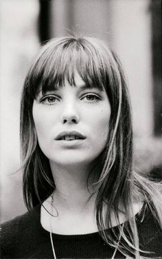 """I feel most comfortable in an old pair of jeans, Converse, and a man's jersey. My best friend cuts my hair with kitchen scissors.""  Jane Birkin"