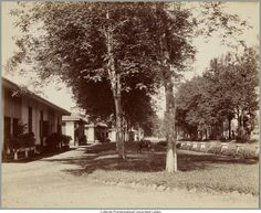 KNIL officierskampement te Magelang 1920-1930.