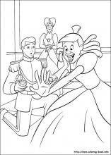 Coloring Page Cinderella