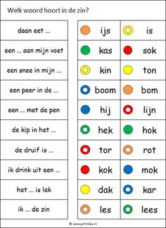 Games For Kids, Diy For Kids, Learn Dutch, Dutch Words, Kids Writing, Spelling, Homeschool, Language, Classroom