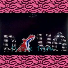 Carnival Cruise Diva Glitter Vinyl and Rhinestone by Twinkletrunk