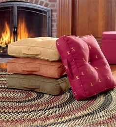Tufted Floor Cushion - $40