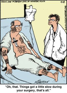 Close to Home - Surgery. John McPherson.