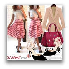 """""""Sammydress 24"""" by danijela-3 ❤ liked on Polyvore featuring women's clothing, women, female, woman, misses, juniors, MustHave, sammydress and winteredition"""