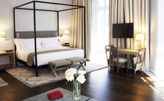 In a city not exactly bursting with luxury boutique bolt-holes, the Urso Hotel…