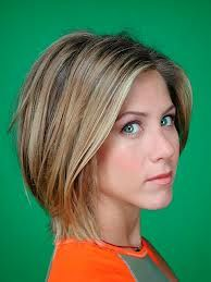 """love the highlights. Jennifer Aniston, the original """"brond."""" Photo of Barbara Green Photoshoot 2001 for fans of Jennifer Aniston. Easy Short Haircuts, Short Bob Hairstyles, Cool Hairstyles, Bob Haircuts, Hairstyles 2016, Hairstyle Ideas, Famous Hairstyles, Rihanna Hairstyles, Trendy Haircuts"""