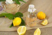 Limpiador casero de limón y vinagre
