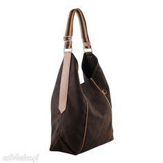 1be5632bbbdd1 Furia torba worek czekolada ramię incat wygodna swobodna prezent Portmonetki
