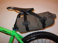 An aide-memoire to the stuff I do on a snowboard, bike or just rambling about, and other stuff: MYOG saddlebag hack