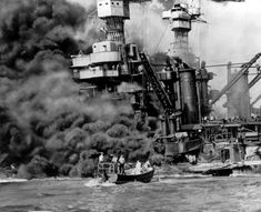 <b>To commemorate the 70th anniversary of the attack on Pearl Harbor, here are some stunning images of the event that brought the United States into World War II.</b> And allow us to use the occasion to thank our veterans for their service and sacrifice.